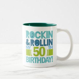 50.o Ideas del regalo de cumpleaños Taza De Dos Tonos