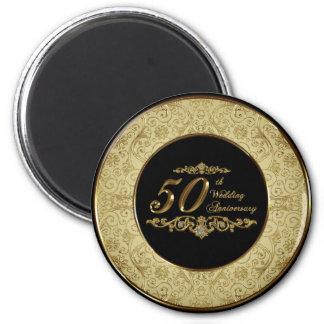 50.o Imán del aniversario de boda
