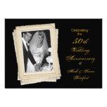 50.o Invitación del aniversario de boda - parte mo