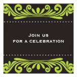 50.o Invitación del cumpleaños - Flourishes