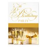 50.o Invitación personalizada de la fiesta de