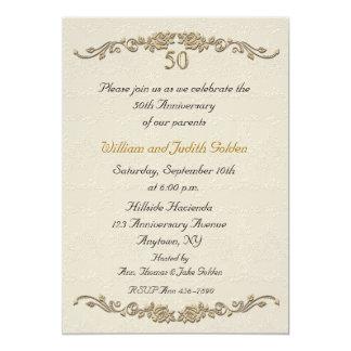 50.o Invitación subió aniversario de la frontera