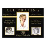 50.o Invitaciones de la foto de la fiesta de Invitacion Personalizada