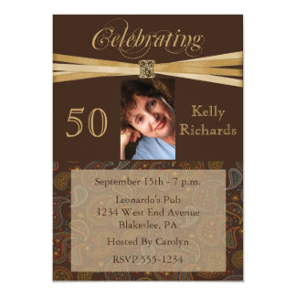 """50.o Invitaciones personalizadas de la foto de la Invitación 5"""" X 7"""""""