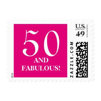 50.o La fiesta de cumpleaños sella el | cincuenta Estampillas