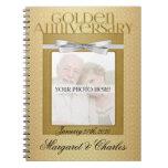 50.o Libro de visitas de Annivsersary del boda de  Cuadernos