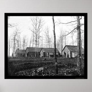50.o Los cuartos 1864 de los oficiales del ingenie Impresiones