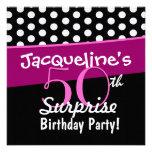 50.o Lunares del cumpleaños de la sorpresa y D541  Anuncio Personalizado
