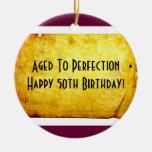 50.o Ornamento del cumpleaños Adorno De Reyes