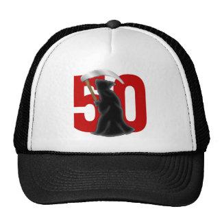 50.o Parca divertido del cumpleaños Gorro De Camionero