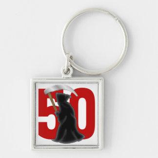 50.o Parca divertido del cumpleaños Llavero