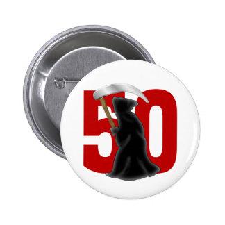 50.o Parca divertido del cumpleaños Pin