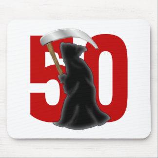 50.o Parca divertido del cumpleaños Alfombrilla De Ratones