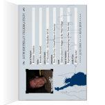 50.o pasaporte del cumpleaños de New York City Tarjeta Pequeña