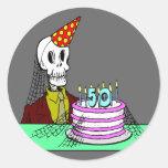 50.o Pegatina del cumpleaños
