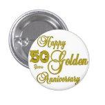 50.o Pin feliz del aniversario