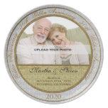 50.o Placa de la foto del aniversario de boda