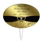 50.o Primero de la torta del aniversario de boda Decoración Para Tarta