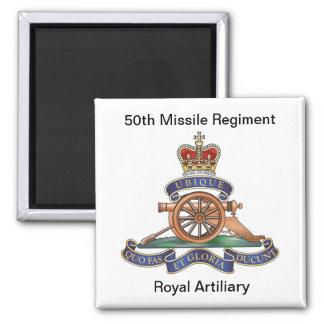 50.o RA del regimiento del misil Iman Para Frigorífico