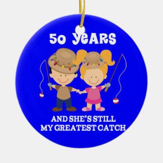 50.o Regalo divertido del aniversario de boda para Ornamentos De Reyes