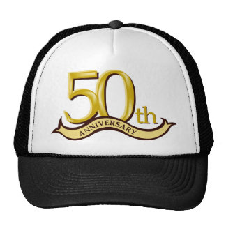 50.o regalo personalizado del aniversario gorro