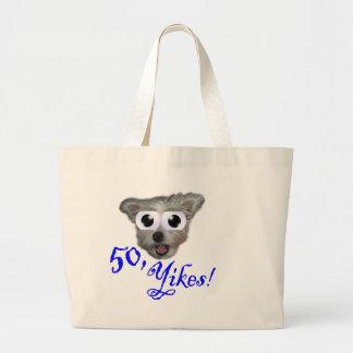 50.o ¡Regalos de cumpleaños, petate de 50 Yikes! Bolsas