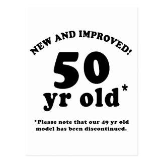 50.o Regalos de la mordaza del cumpleaños Postales