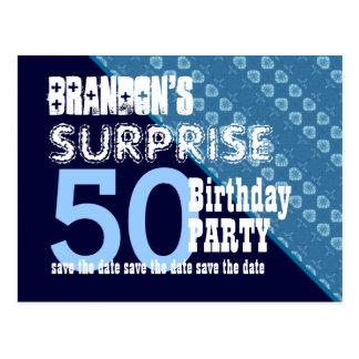 50.o Reserva del cumpleaños de la sorpresa la Postales
