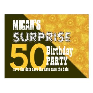 50.o Reserva del cumpleaños de la sorpresa la Postal
