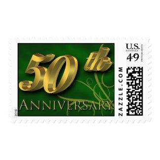 50.o Sello del aniversario de boda