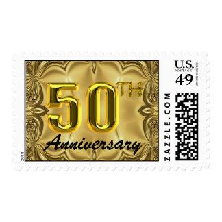 50.o Sello del aniversario