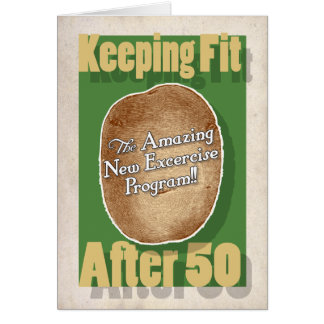 50.o Tarjeta de cumpleaños: Programa de fitness de