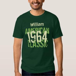50.o Verde clásico americano del cumpleaños 1964 Playera