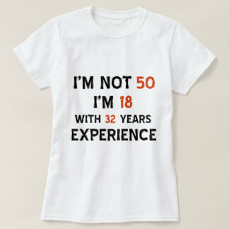 50.os diseños del cumpleaños polera
