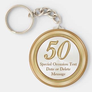 50.os llaveros personalizados de los regalos de la