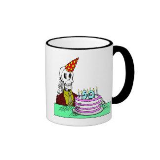 50.os regalos de cumpleaños de los esqueletos tazas de café