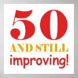 50.os regalos de cumpleaños del envejecimiento ing impresiones