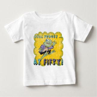 50.os regalos de cumpleaños del Froggy cincuenta Remeras