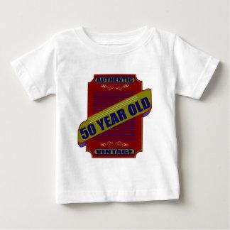 50.os regalos de cumpleaños del vintage cincuenta camisas