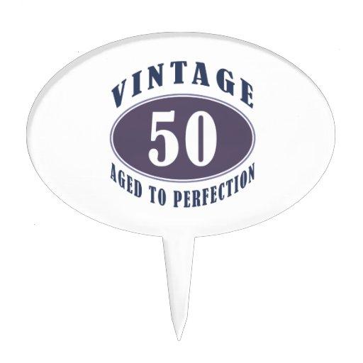 50.os regalos de cumpleaños del vintage para los h decoraciones para tartas