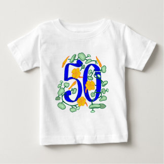 50.os regalos de cumpleaños florales remeras