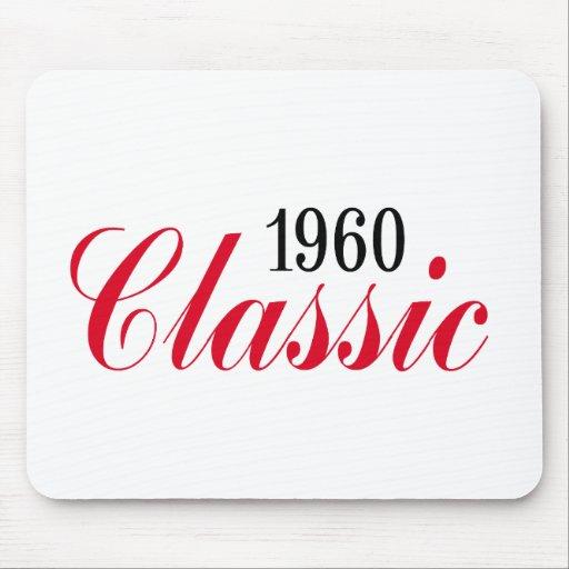 ¡50.os regalos de cumpleaños, obra clásica 1960! alfombrilla de ratones