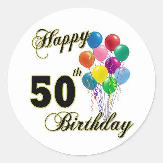 50 os regalos de cumpleaños y ropa felices del cum etiquetas