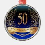50.os regalos elegantes del aniversario de boda adorno para reyes