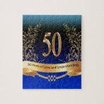 50.os regalos elegantes del aniversario de boda rompecabezas con fotos