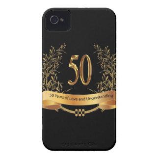 50.os regalos felices del aniversario de boda carcasa para iPhone 4