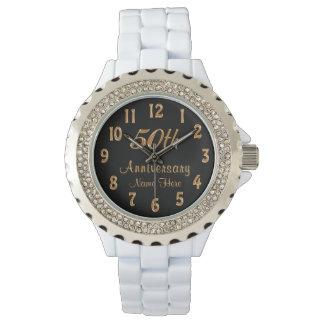 50.os regalos personalizados del aniversario para reloj de mano