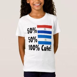 50% Paraguayan 50% Nicaraguan 100% Cute T-Shirt
