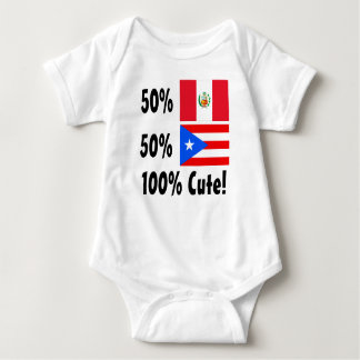 50% Peruvian 50% Puerto Rican 100% Cute Infant Creeper