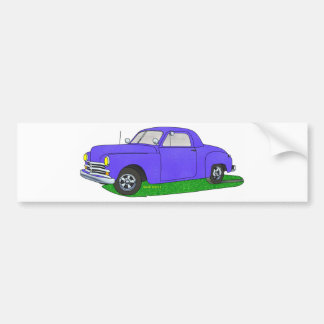 50 Plymouth Business coupe Bumper Sticker